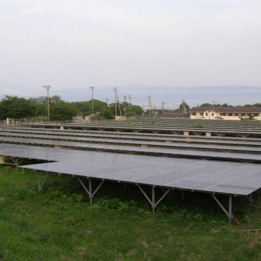 池平高圧発電所 太陽光発電システム
