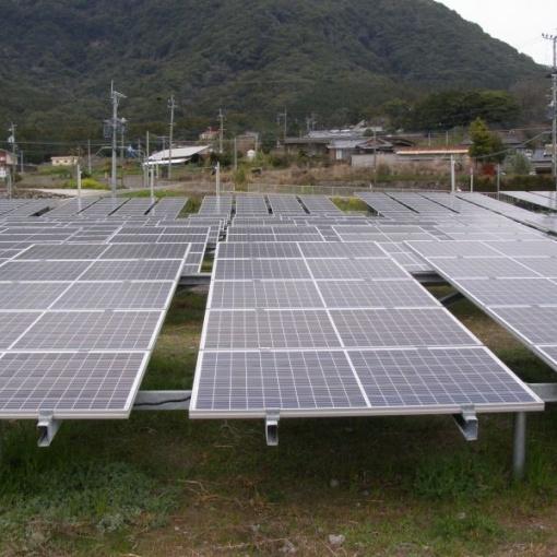 二ノ川発電所 太陽光発電システム