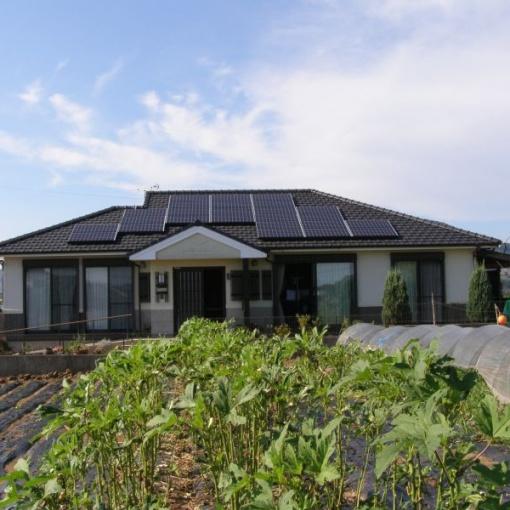 S様邸 太陽光発電設備